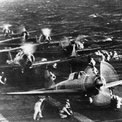 Japanese Planes ready attack for Pearl Harbor