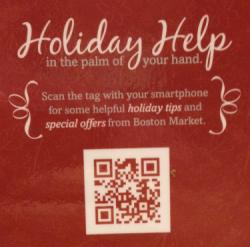 Boston Market QR