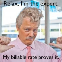 Relax, I'm the expert